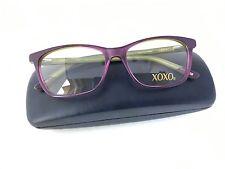 New 100% Authentic Eyeglasses Frames XOXO COSMIC PURPLE GREEN (PRGN) 15-52-135