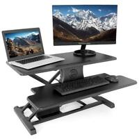 PrimeCables® Office Electric Height Adjustable Sit-Stand Desk Table Converter