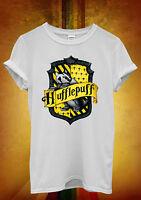 Harry Potter Huffle Puff Hipster Men Women Unisex T Shirt Tank Top Vest 157
