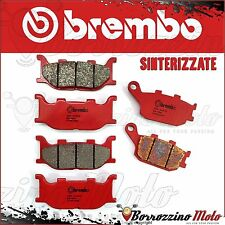 BRAKE PADS KIT BREMBO SINTER FRONT + REAR YAMAHA FZ6 600 2007