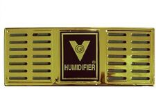 "Gold Cigar Humidor Humidifier 6.5"" X 2.5"" Rectangle"