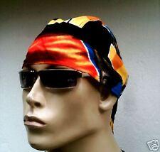 Foulard de tête bandana tête de mort rap pop hiphop fashion