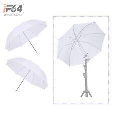 """2pcs Photo Studio 33"""" White Umbrella Reflector Translucent Diffusion for Flash"""