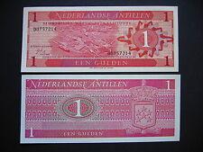 NETHERLANDS ANTILLES  1 Gulden 8.9.1970  (P20a)  UNC