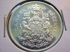 1966 Canada 50 Cent (50¢) 80% Silver - *BU*