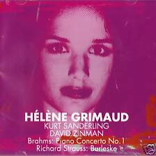 Helene Grimaud - Brahms Piano No.1  Strauss / Burleske  - Kurt Sanderling CD NEW