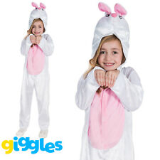 Girls & Boys Bunny Rabbit Easter World Book Day Week Costume Fancy Dress Outfit