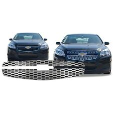 Chrome Grille Overlay Compatible with 2013 Chevy Malibu (LS / LT / ECO)