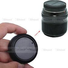 Rear Lens Cap Cover for Fuji Fujifilm Micro SLR X-Mount Camera Lens XF 27 / 2.8