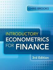 Introductory Econometrics for Finance by Chris Brooks Paperback Book (English)