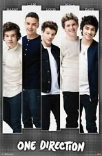 1D ONE DIRECTION BARS POSTER BOY BAND GROUP NEW 22X34 FAST FREE SHIPPING