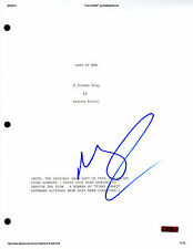 GFA Lord of War * NICOLAS CAGE * Signed Full Movie Script AD1 PROOF COA