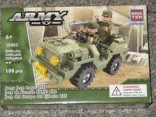 Army Jeep Corps 275 BricTek Building Block Construction Toy Brick 25002