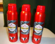 3 Pack Old Spice  Antiperspirants Deodorant Body Spray  Men Hawkridge  5.07 Oz