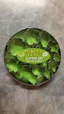 Makin'S Clay Cutter Set 15-Piece Set, Flower & Leaves, Part #18-1050