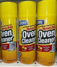 Lot Of 3 Home Store Heavy Duty Oven Cleaner 13 oz.