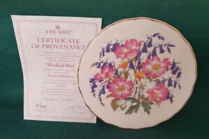 Bradford Exchange Royal Albert Collector Plate - Woodland Roses
