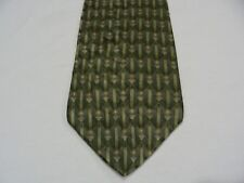 CAMBRIDGE CLASSICS - GEOMETRIC PATTERNED - VINTAGE - MADE IN USA NECK TIE!