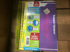 Star Wars TRAPPER KEEPER 1 Subject Notebook Wide Paper Purple 80 Sheets