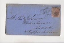 Paignton [C] Duplex Postmark 6 Nov 1880 Cover 473b