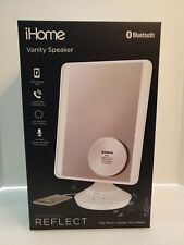 """iHome Beauty Reflect Bluetooth 7"""" x 9"""" Vanity Speaker with Voice Control"""