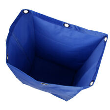 Janitorial Cart Cleaning Tool Waterproof Cart Storage Bag 40x28x69cm Blue