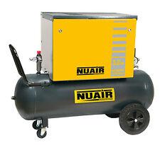 Compressore silenziato cabinato 100 lt Litri 3 Hp Nuair