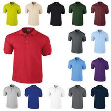 Gildan Unisex Adults Ultra Cotton Pique Polo Shirt 20 Colours S M L XL XXL Light Blue Small