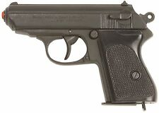 PPK James Bond Black Finish Pistol Non-Firing All Metal Repica Prop