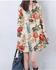 BIG SIZE DRESS FLORAL