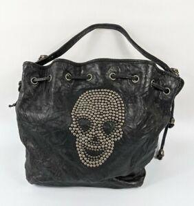 Thomas Wylde Black Leather Handbag 30cm X 24cm Pristine