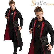 Adulto Hombres Vampiro Abrigo Drácula Halloween Accesorio para disfraz
