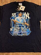 Vintage NWT New York Yankees Hideki Matsui T Shirt XL CSA 2003 Godzilla