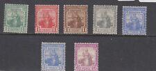 Trinidad & Tobago KGV 1921 Set To 6d SG206/12 MLH J3856