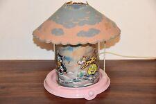 1948 Vintage Econolite Old Mother Goose Motion Spinning Light Lamp Nursery Rhyme