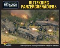 Bolt Action: German Blitzkrieg Panzergrenadiers (30 infantry + 3 Hanomags)