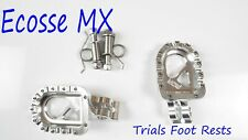SHERCO TRIALS MDR Silver Trials Trick Foot Pegs Foot Rests