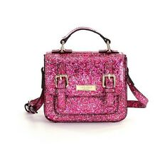 NWT Kate Spade New York Scout Red Pink Glitter Satchel (Tiny) Mini Small Bag