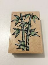 Hero Arts Used Rubber Stamps G 2120 Natural Bamboo Plant Asian Garden