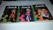 .Hack//Legend of the Twilight Manga Vols 1-3 Complete Series Tokyopop USED