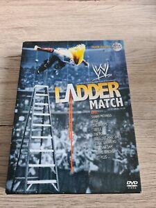 COFFRET 3 DVD THE LADDER MATCH WWE VERSION FRANÇAISE RARE CATCH