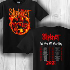 2021 HOT!! Slipknot We Are Not Your Kind Tour T-shirt Halloween Unisex USA Sizes