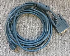 Genuine Cisco CAB-E1-PRI ISDN PRI 15 Pin D-Sub DB15 macho a macho Cable 3M RJ45