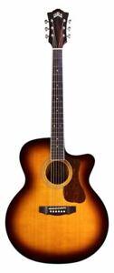 Guild F-250CE Deluxe Acoustic/Electric Guitar Antique Burst