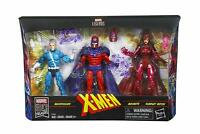 """Marvel Legends Series Exclusive 6"""" Family Matters 3 Pack * Magneto Quicksilver +"""