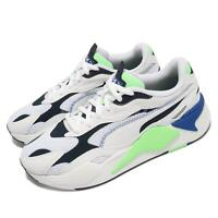 Puma RS-X3 Millenium White Green Blue Men Casual Lifestyle Shoes 373236-03