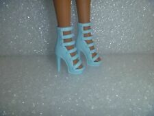 Barbie Shoes -  Light Blue Extreme Or Stiletto High Heel  Fashionista Shoes