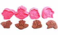 Snow White 4 pc Plunger Cookie Cutter Set