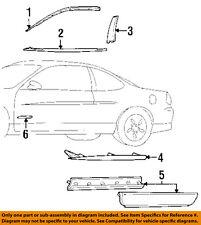 Pontiac GM OEM 97-03 Grand Prix Front Door-Reveal Molding Left 10321355