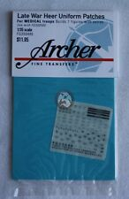 Archer 1/35 Late War Heer Uniform Patches for Medical Troops FG35048E